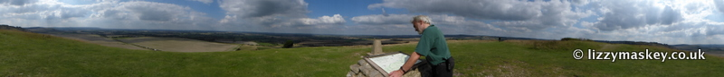 Panoramic from the Beacon